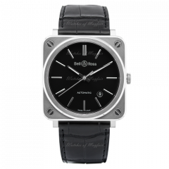 BRS92-BLC-ST/SCR Bell & Ross Br S-92 Black Steel 39 mm watch. Buy Now