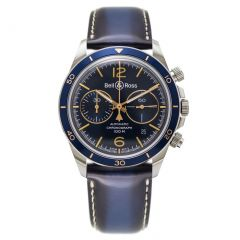 BRV294-BU-G-ST/SCA Bell & Ross Br V2-94 Aeronavale 41 mm watch. Buy Now