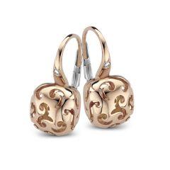 20O48R | Buy Online BIGLI Mini Sweety Rose Gold Diamond Earrings
