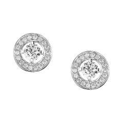 Boucheron Ava White Gold Diamond Earrings JCOT7AFA04