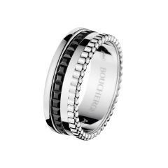 JRG01790   Buy Online Boucheron Quatre White Gold Black PVD Ring