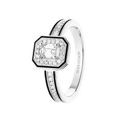 JSL00312   Buy Online Boucheron Vendôme Liseré White Gold Diamond Ring