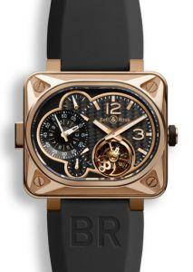 BR-MNUT-TOURB-PG | Bell & Ross BR Minuteur Tourbillon Pink Gold watch