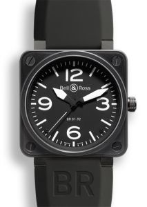 BR0192-BL-CA | Bell & Ross BR 01-92 Carbon 46 mm watch | Buy Online