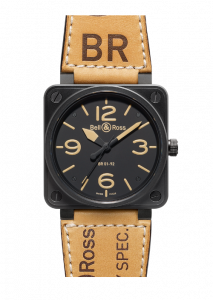 New Bell & Ross BR 01-92 Heritage BR0192-HERITAGE