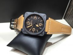 BR0392-HERITAGE-CE | Bell & Ross BR 03-92 Heritage Ceramic 42 mm watch