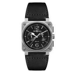Bell & Ross BR 03-94 Steel BR0394-BL-SI/SCA