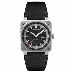 BR0396-SI-ST | Bell & Ross BR 03-96 Grande Date 42 mm watch. Buy Now