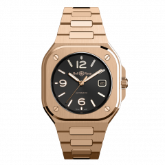 BR05A-BL-PG/SPG | Bell & Ross Br 05 Gold 40 mm watch. Buy Online