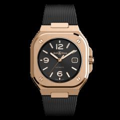 BR05A-BL-PG/SRB | Bell & Ross Br 05 Gold 40 mm watch. Buy Online