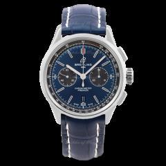AB0118A61C1P2 | Breitling Premier B01 Chronograph 42 Steel watch. Buy Online