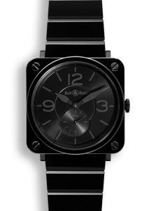 BRS-BLC-PH/SCE | Bell & Ross BR S Black Ceramic Phantom 39 mm watch