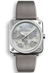 BRS-CAMO-ST-LGD/SF | Bell & Ross BR S Grey Camouflage Diamonds watch