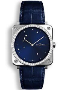 BRS-EA-ST-LGD/SCR   Bell & Ross BR S Diamond Eagle Diamonds 39mm watch