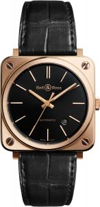 BRS92-BL-PG/SCR | Bell & Ross BR S Rose Gold 39 mm watch. Buy Now