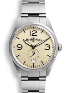 BRV123-BEI-ST/SST | Bell & Ross BR 123 Original Beige 41 mm watch