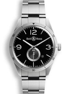 BRV123-BS-ST/SST | Bell & Ross BR 123 GT 42 mm watch | Buy Online