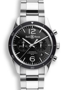 BRV126-BL-BE/SST | Bell & Ross BR 126 Sport 43 mm watch. Buy Online