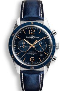 BRV126-BLU-ST/SCA | Bell & Ross BR 126 Aeronavale 43 mm watch. Buy Now