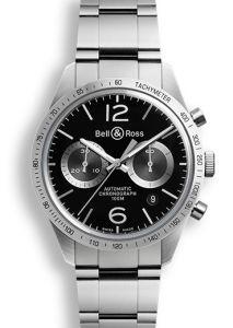 BRV126-BS-ST/SST | Bell & Ross BR 126 GT 42 mm watch. Buy Online