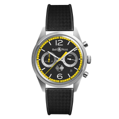 BRV126-RS40-ST/SRB | Bell & Ross Br 126 Renault Sport 40Th Anniversary 41 mm watch. Buy Online