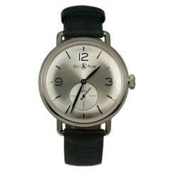 BRWW1-ME-AG-SI/SCR   Bell & Ross WW1 Argentium Silver 41 mm watch