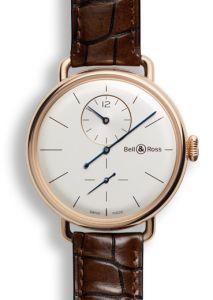 BRWW1-REG-PG/SCR | Bell & Ross WW1 Regulateur Rose Gold 42 mm watch