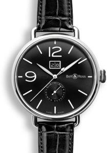 BRWW190-BL-ST/SCR | Bell & Ross WW1-90 Grande Date & Reserve De Marche