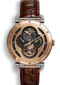 BRWW2-TOURB-MPG | Bell & Ross WW2 Military Tourbillon Rose Gold watch