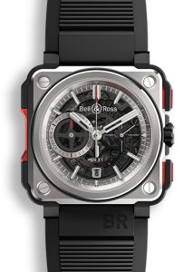 Bell & Ross BR-X1 | Titanium Skeleton Chronograph 45 mm watch. Buy Now