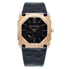 102371 | BVLGARI Octo Finissimo Pink Gold Manual winding 40mm watch