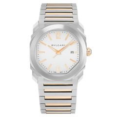 102118 | BVLGARI Octo Solotempo Steel Automatic 38mm watch. Best Price