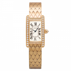 WB710012   Cartier Tank Americaine 27 x 15.2 mm watch. Buy Now