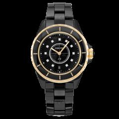 Chanel J12 Quartz Black Ceramic H2544