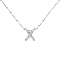 082215 | Buy Online Chaumet Premier Liens White Gold Diamond Pendant