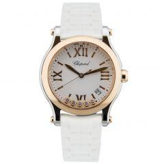 Chopard Happy Sport 36 mm Quartz 278582-6001. Watches of Mayfair