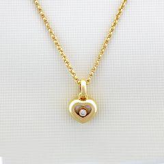 794854-0001 | Chopard Happy Diamonds Icons Yellow Gold Diamond Pendant