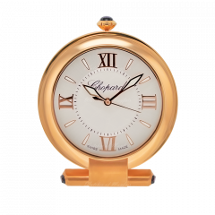 95020-0078 | Chopard Alarm Clock Imperial Pink Gold Finish 120 mm. Buy Now