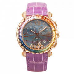 283582-5017 | Chopard Happy Sport Chronograph 42 mm watch | Buy Now