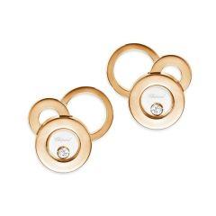836984-5002 | Buy Chopard Happy Bubbles Rose Gold Diamond Earrings