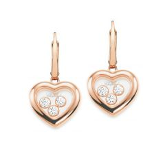839203-5003 | Buy Chopard Happy Curves Rose Gold Diamond Earrings
