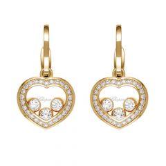 839203-5004 | Buy Chopard Happy Curves Rose Gold Diamond Earrings