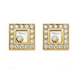 832896-0001 | Buy Chopard Happy Diamonds Icons Yellow Gold Earrings
