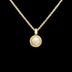 79A018-0001 | Chopard Happy Diamonds Icons Yellow Gold Diamond Pendant