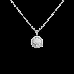 79A018-1001 | Chopard Happy Diamonds Icons White Gold Diamond Pendant