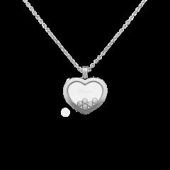 79A038-1001   Chopard Happy Diamonds Icons White Gold Diamond Pendant