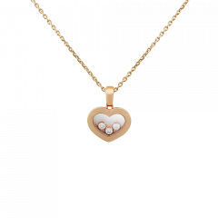 79A611-5001   Buy Chopard Happy Diamonds Icons Rose Gold Pendant