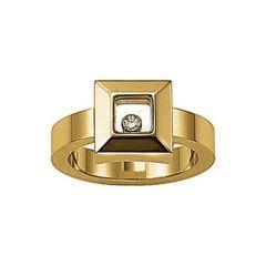 Chopard Happy Diamonds Icons Yellow Gold Diamond Ring 822938-0112