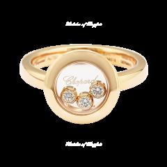 82A018-5110 | Buy Chopard Happy Diamonds Icons Rose Gold Diamond Ring