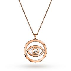 799467-5001 | Buy Chopard Happy Diamonds Eye Rose Gold Diamond Pendant